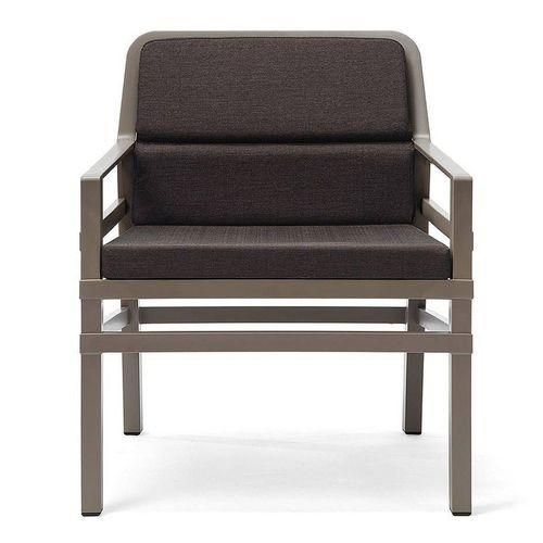 купить Кресло с подушками Nardi ARIA FIT TORTORA caffe 40330.10.165.FIT (Кресло с подушками для сада и терас) в Кишинёве