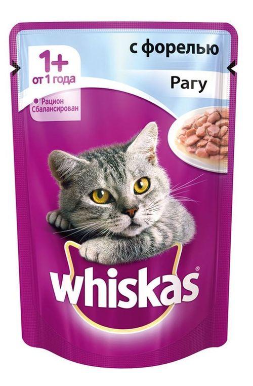 купить Whiskas рагу из форели в Кишинёве
