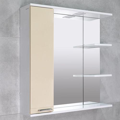 купить Rivera Шкаф-зеркало беж 860 L в Кишинёве