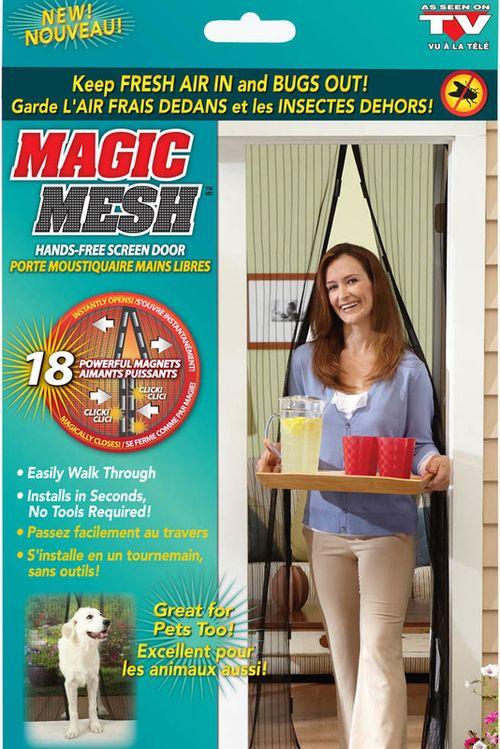 купить Москитная сетка на магнитах Magic Mesh 190х100 см в Кишинёве