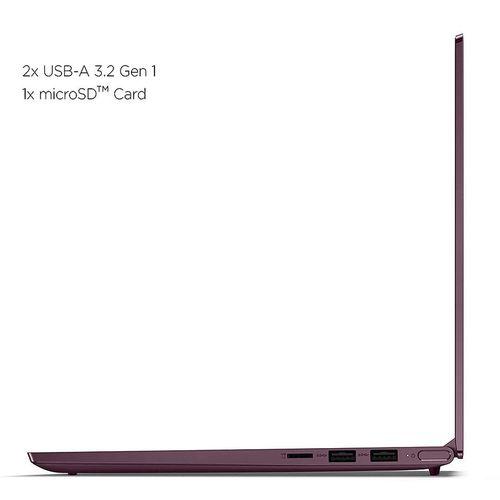 "купить Ноутбук 14.0"" Lenovo Yoga Slim 7 14ARE05 Orchid, AMD Ryzen 5 4500U 2.3GHz-4.0GHz/8GB PC4-25600/SSD 512GB/AMD Radeon Graphics/WiFi  802.11ax/ Bluetooth/ HDMI/ Card Reader/ HD Webcam/ Illuminated Keyboard/ 14.0"" IPS FHD (1920x1080) Non-glare/Windows 10 Home RU в Кишинёве"
