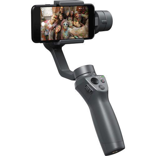 cumpără (162312) Stabilizer for Smartphone OSMO Mobile 2, Mobile Phone Width Range 58.6-85 mm, Bluetooth Low Energy 4.0, Battery LiPo 2600 mAh, 15 hours battery life, 485g, Black în Chișinău