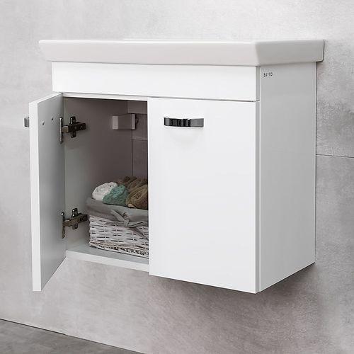 купить Larra Шкаф белый с умывальником Isik 600 в Кишинёве