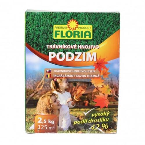 Удобрение для газона на осень Флория (2.5 килограмм)