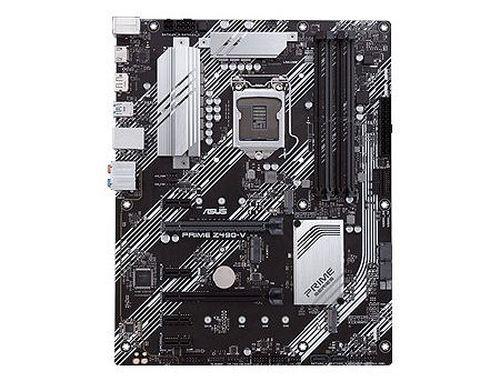 купить Материнская плата ASUS PRIME Z490-V-SI Intel Z490, LGA1200, Dual DDR4 4266MHz, 2xPCI-E 3.0/2.0 x16,HDMI/DP, AMD 2-Way CrossFireX, USB3.2, SATA RAID 6Gb/s, 2 x M.2 x4 Socket, Intel Optane memory ready, SB 8-Ch., GigabitLAN, LED lighting в Кишинёве