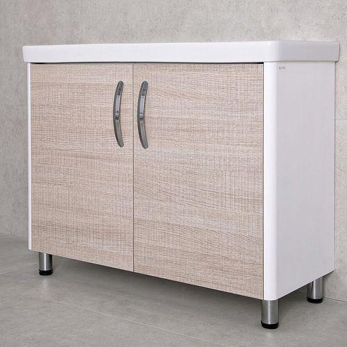купить Vista Шкаф светлый полилак с умывальником Luxor 1050 в Кишинёве