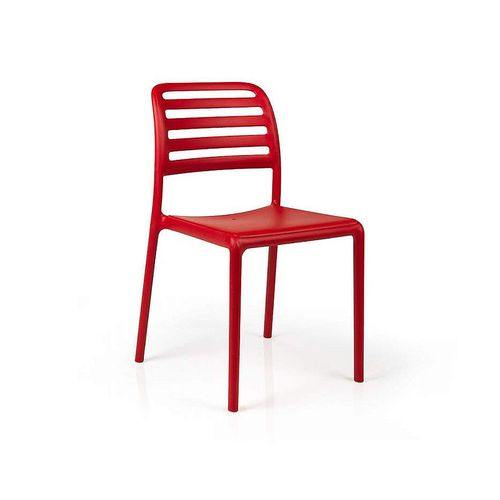купить Стул Nardi COSTA BISTROT ROSSO 40245.07.000.06 (Стул для сада и террасы) в Кишинёве