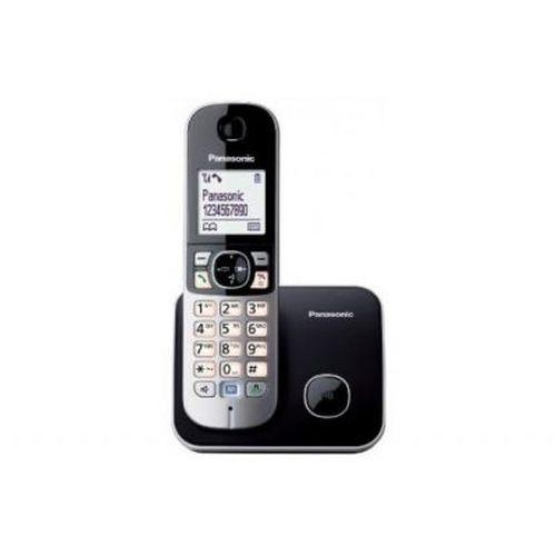 cumpără Telephone Dect Panasonic KX-TG6811UAB, Black, АОН, Caller ID, возможность подключения дополнительных трубок, до 15 часов в режиме разговора, до 170 часов в режиме ожидания în Chișinău