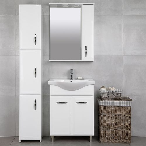 cumpără Set mobilă Allure alb duo cu lavoar Alba 650 în Chișinău