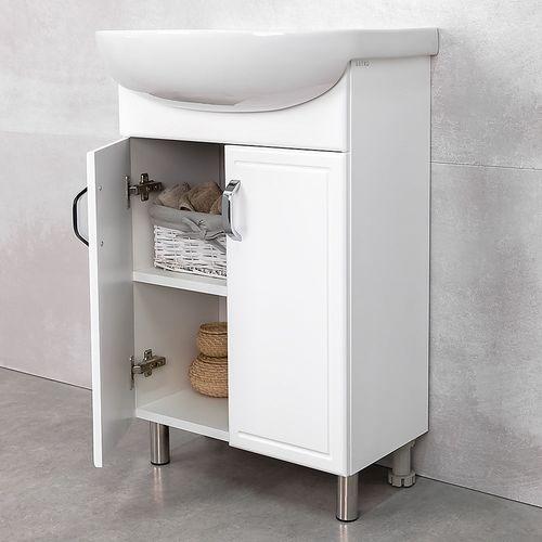 купить Lagos Шкаф белый под умывальник Arteсo 600 в Кишинёве