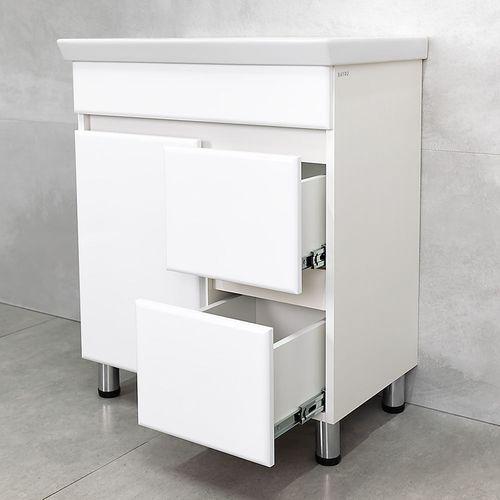 купить Urbano Шкаф белый структурный с умывальником Isik 700 в Кишинёве