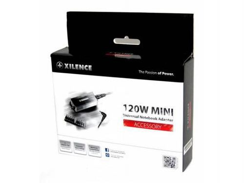 cumpără XILENCE XP-LP120.XM012, 120W Mini, Universal Notebook Power Adapter, 11 +1 (LENOVO) different tips, LED display (shows the actual output voltage), Input Voltage: AC 100-240V, Output Voltage: 15-24V, high efficiency over 86%, Black în Chișinău