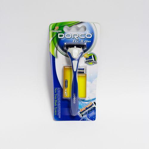 купить Бритвенная система с 2 лезвиями - Dorco TG-II Plus (ручка + 2 кассеты) в Кишинёве