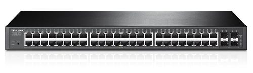 cumpără TP-LINK T1600G-52TS  48-port Pure-Gigabit L2 Managed Switch, 48 10/100/1000Mbps RJ45 ports including 4 combo SFP slots, Port/Tag/MAC/Voice/Protocol-based VLAN, GVRP, STP/RSTP/MSTP, IGMP V1/V2/V3 Snooping, L2/L3/L4Traffic Classification în Chișinău