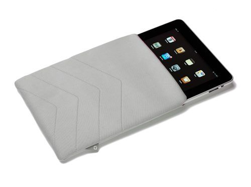 купить Dicota D30250 PadSkin #2 for iPad 2 and The New iPad, white, Neoprene sleeve (husa tableta/чехол для планшета) в Кишинёве