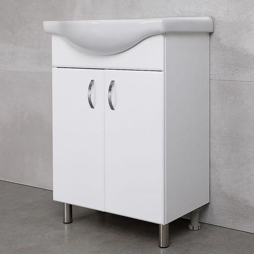 купить Bris Шкаф белый под умывальник Seliger 600 в Кишинёве