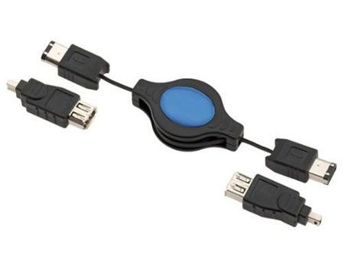 купить E84083 FireWire Retractable Kit (cablu FireWire/кабель FireWire) в Кишинёве
