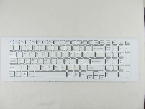 купить Keyboard Sony VPCEJ w/frame ENG. White в Кишинёве