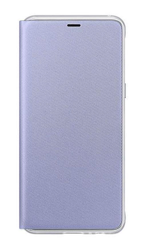 cumpără Husă pentru smartphone Samsung EF-FA530, Galaxy A8 2018, Neon Flip Cover, Orchid în Chișinău