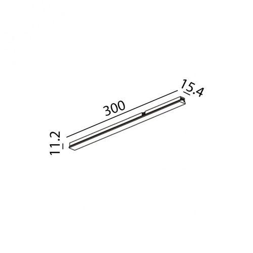 купить Светильник линейный MINI_LINE42 LINEA 300 07.3000.6.930.BK в Кишинёве