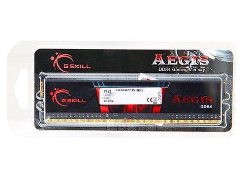 купить 8GB DDR4 G.SKILL Aegis F4-2666C19S-8GIS DDR4 PC4-21300 2666MHz CL19, Bulk (memorie/память) в Кишинёве