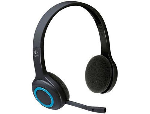 купить Logitech Wireless Headset H600, Noise-canceling microphone, USB Nano receiver 2.4 GHz wireless, 981-000342 (casti fara fir cu microfon/беспроводные наушники с микрофоном) в Кишинёве