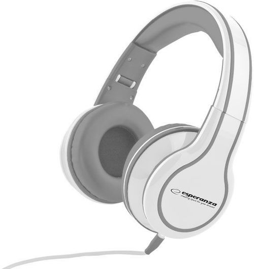 "купить Esperanza EH136W ""BLUES"" White, Stereo audio Headphones with Volume control, 5 m cable lenght в Кишинёве"