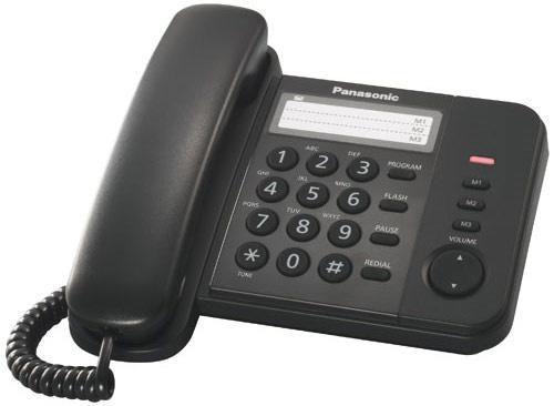 cumpără Telefon cu fir Panasonic KX-TS2352UAB în Chișinău