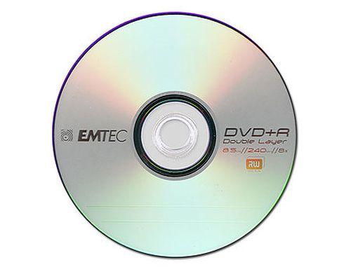 купить EMTEC DVD+R Double Layer 8x 8,5GB в Кишинёве