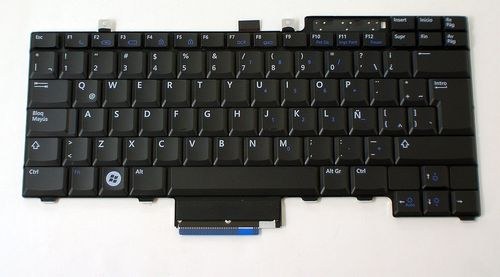 купить Keyboard Dell Latitude E5400 E5410 E5500 E5510 E5300 E5310 ENG. Black в Кишинёве
