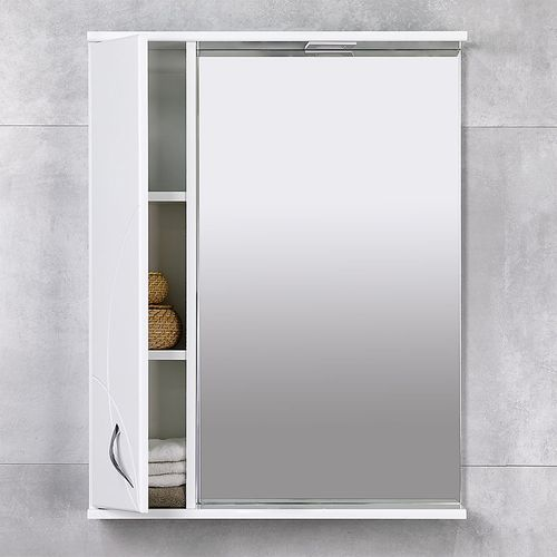 купить Premium Шкаф-зеркало белый 650 L в Кишинёве