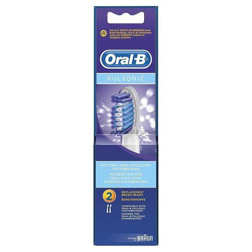 cumpără Accesoriu perie de dinți Oral-B Pulsonic Electric Toothbrush Replacement Brush Heads 2 Pack în Chișinău