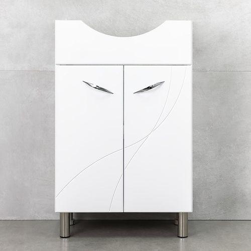 купить Premium Шкаф белый с умывальником Alba 540 в Кишинёве