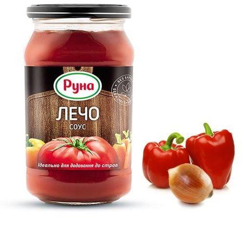 """купить """"RUNA Лечо"""" Соус  485гр. в Кишинёве"""