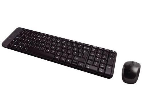 купить Logitech MK220 Black Wireless Desktop USB, Keyboard + Mouse, 920-003169 (set fara fir tastatura+mouse/беспроводной комплект клавиатура+мышь) в Кишинёве
