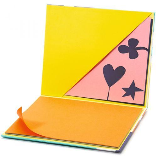 купить Цветная бумага, Arty Block, DJECO в Кишинёве