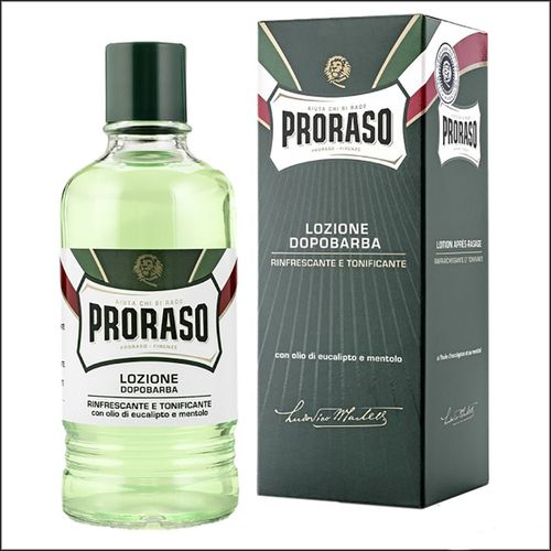 купить ЛОСЬОН PRORASO GREEN AFTERSHAVE LOTION 400ML в Кишинёве