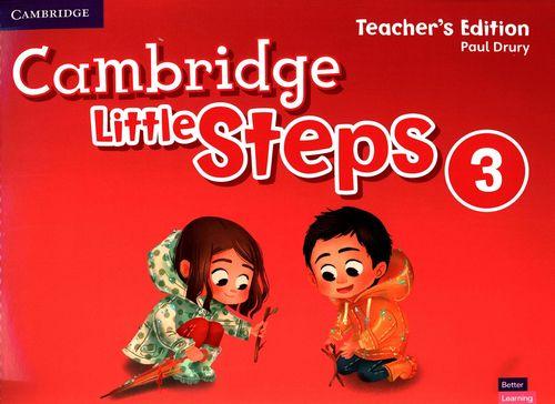 купить Cambridge Little Steps Level 3 Teacher's Edition в Кишинёве