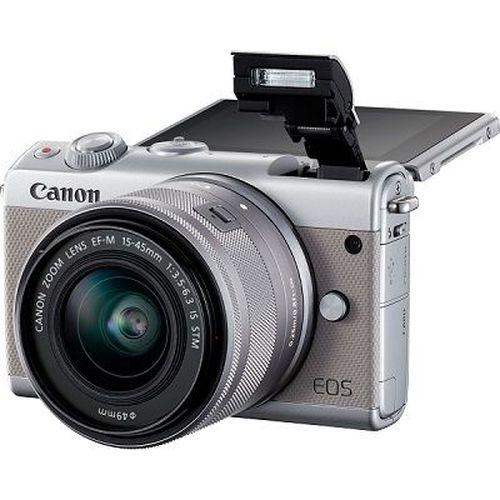 купить DC Canon EOS M100 Grey & EF-M 15-45 STM в Кишинёве
