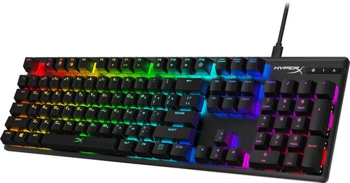 купить HYPERX Alloy Origins RGB Mechanical Gaming Keyboard (RU), Mechanical keys (HyperX Red key switch) Backlight (RGB), 100% anti-ghosting, Key rollover: 6-key / N-key modes, Ultra-portable design, Solid-steel frame, Convenient USB charge port, USB в Кишинёве