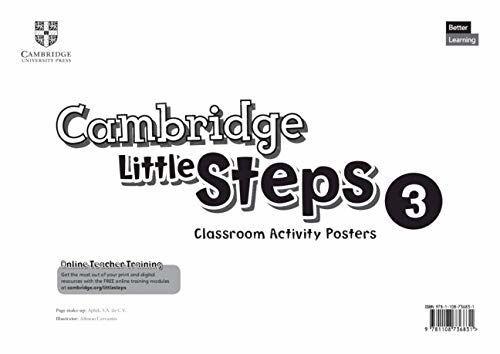 купить Cambridge Little Steps 3 Classroom Activity Posters Постеры в Кишинёве