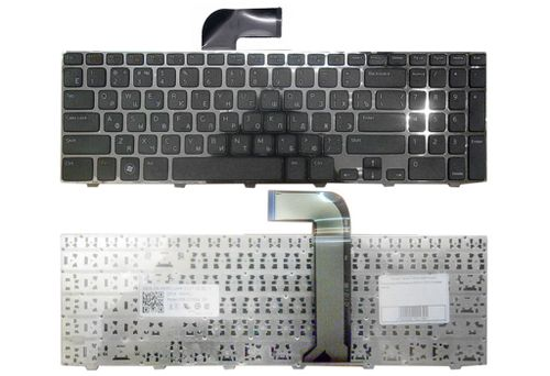 купить Keyboard Dell Inspiron N5110 M5110 ENG/RU Black в Кишинёве