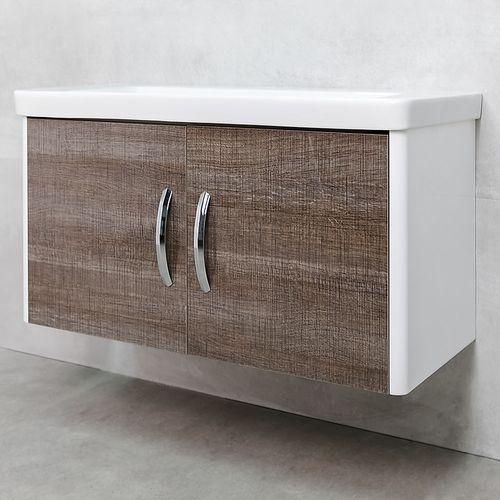 купить Vista Шкаф темный полилак с умывальником Luxor 1050 в Кишинёве