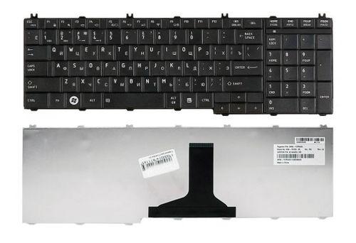 cumpără Keyboard Toshiba Satellite C650 C660 C670 C675 C750 C755 C770 C775 L650 L660 L670 L675 L750 L755 L770 L775 ENG/RU Black în Chișinău