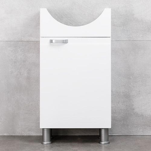купить Rivera Шкаф белый с умывальником Zenon 450 в Кишинёве