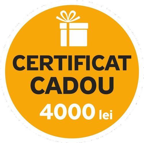 cumpără Certificat - cadou Maximum Подарочный сертификат 4000 леев în Chișinău