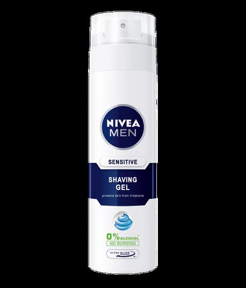 купить Nivea Men Гель для бритья Sensitive 200 мл. в Кишинёве