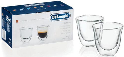 купить Стакан DeLonghi SET 2 Glasses Espresso 60ml в Кишинёве