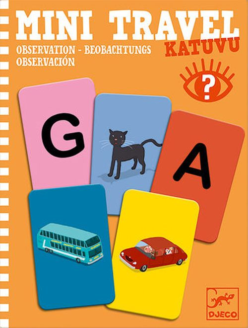 купить Katuvu - Observation Mini Travel Game by Djeco в Кишинёве
