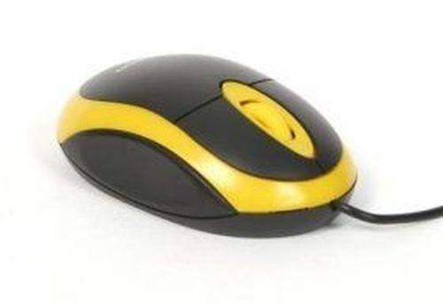 cumpără Omega OM06V Optical mouse 800dpi value line yellow blister 41643 în Chișinău